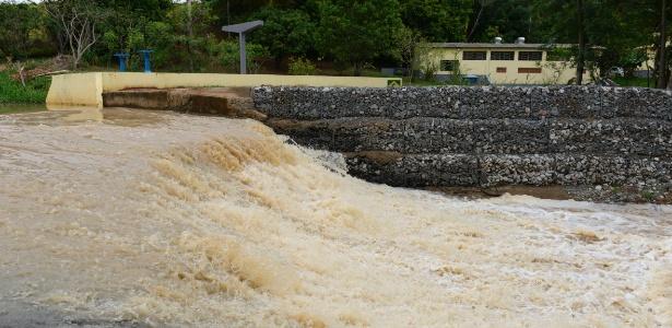 Primeira represa pós-crise recebe água em Indaiatuba (SP) - Giuliano Miranda/DCS-SAAE