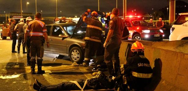 Acidente de trânsito em SP: 42% das pessoas que morreram em acidentes de trânsito na capital paulista tinham consumido bebidas alcoólicas horas antes