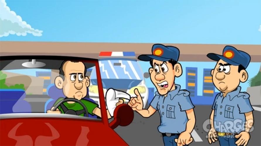 6.nov.2014 - O chargista Maurício Ricardo mostra que uma multa pode sair mais cara do que você imagina. Assista a charge completa clicando aqui