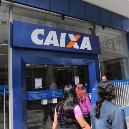 Agência da Caixa na rua Direita, no Ccentro de São Paulo - Renato S. Cerqueira/ Futura Press/ Estadão Conteúdo