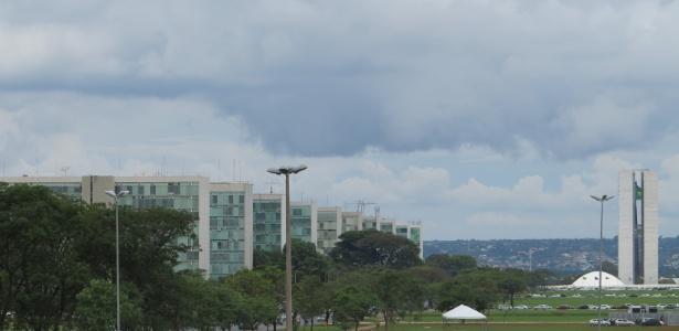 Esplanada tem esquema especial de segurança por causa da votação da PEC - Kleyton Amorim/UOL
