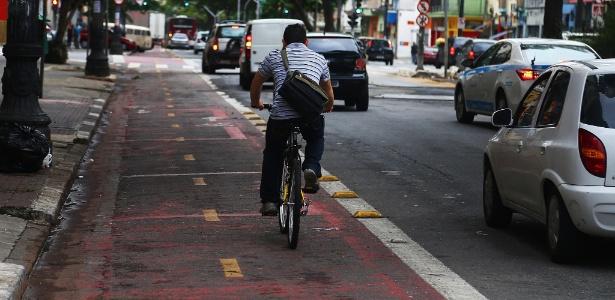 Até o fim de 2020 | SP prevê reformar 310 km de ciclofaixas, mas concluiu 9 km
