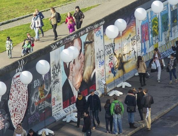 Trecho do Muro de Berlim - Hannibal Hanschke/Reuters