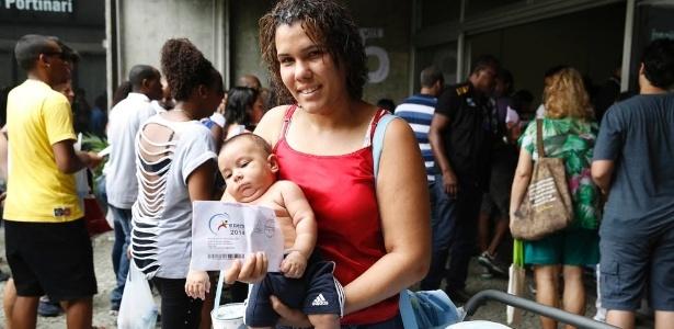 Sem saber que não podia levar bebê, inscrita perde prova no Rio - Marcos Pinto/UOL