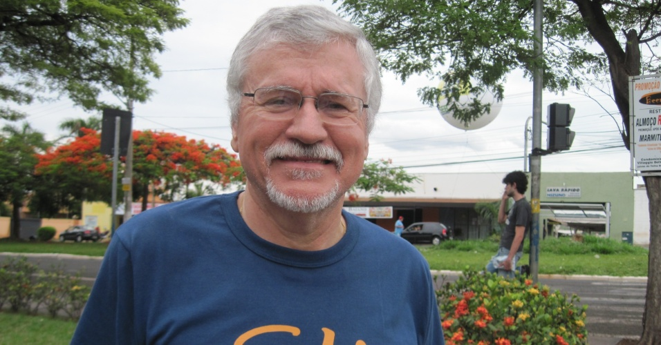 8.nov.2014 - Geografia internacional teve mais espaço, diz professor Luiz Carlos de Souza Domingues, que fez a prova em Ribeirão Preto (SP)