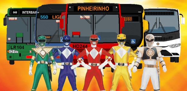 Super operação de ônibus em Curitiba - Reprodução/Facebook
