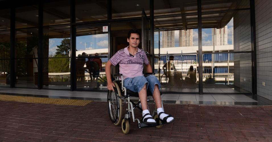9.nov.2014 - Lincon Marçal Bonini, 33, fez o Enem 2014 na Universidade Positivo, em Curitiba, e pretende entrar no curso superior de mecatrônica