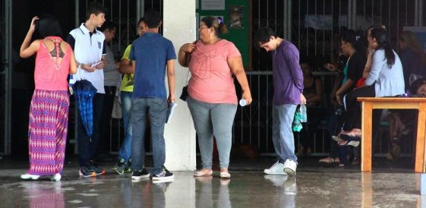 Sem luz em Manaus - Edmar Barros/Futura Press/Estadão Conteúdo