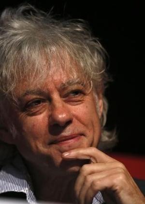 O cantor Bob Geldof, que vai reunir músicos para gravação de canção contra o Ebola