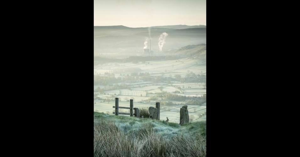 11.nov.2014 - Com esta imagem do Vale da Esperança, em Derbyshire, no centro-norte da Inglaterra, Dave Fieldhouse ganhou o prêmio de melhor Vista Clássica