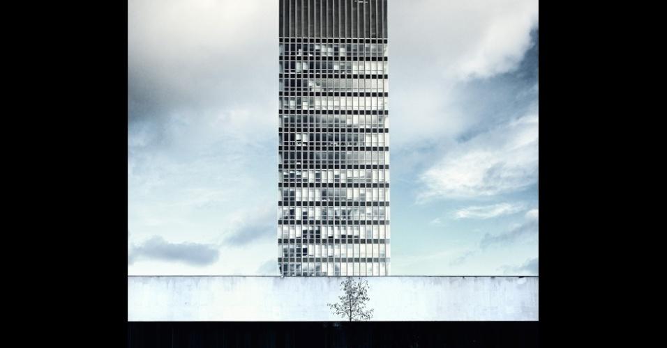 11.nov.2014 - Uma foto da Torre das Artes da universidade de Sheffield deu o prêmio de Vista Urbana para Daniel Cook