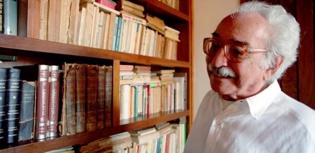 O poeta Manoel de Barros, que morreu em novembro de 2014 - Marlene Bergamo/Folhapress