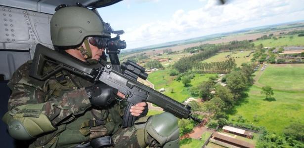 Sistema do Exército é considerado um instrumento de segurança pública e nacional e também visa a coibir crimes ambientais e o contrabando