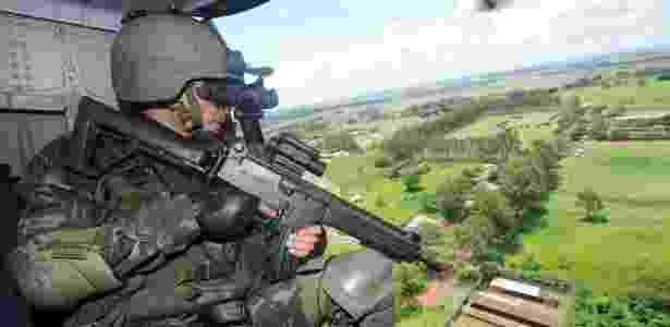 Sistema do Exército é considerado um instrumento de segurança pública e nacional e também visa a coibir crimes ambientais e o contrabando - Ademir Almeida/Futura Press/Estadão Conteúdo