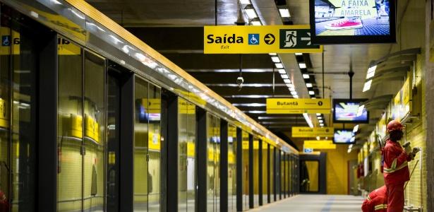 Linha 4-Amarela do Metrô de São Paulo está entre as investigadas - Adriano Vizoni/Folhapress