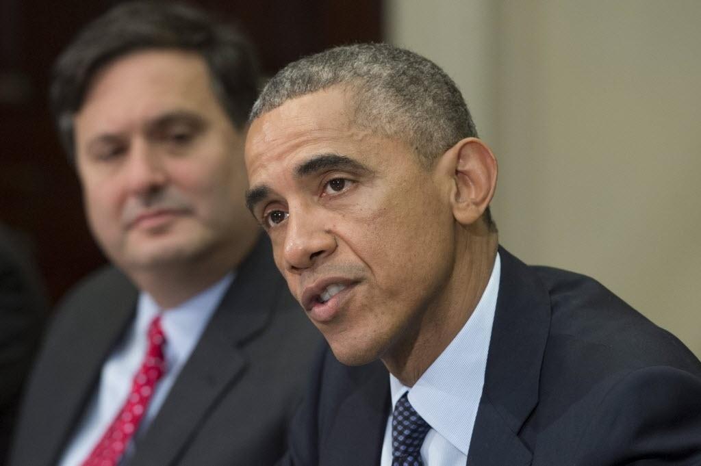 18.nov.2014 - Obama, alertou nesta terça-feira (18) que a luta contra a epidemia de ebola está longe de ser vencida na África ocidental e pediu que seja mantida a vigilância contra a doença, ainda que sejam feitos avanços, particularmente na Libéria.