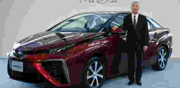 Célula de hidrogênio promete gerar autonomia de 480 km e potência de 153 cv - Yuya Shino/Reuters