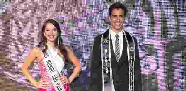 Roberto Candido de Faria Junior/Miss Mundo SP e Mister SP/Divulgação