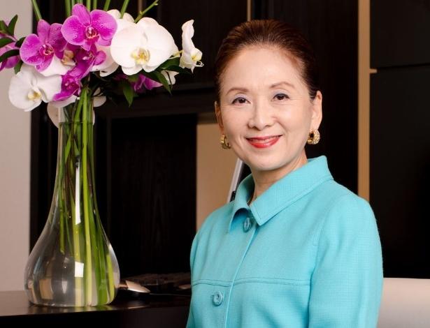 Chieko Aoki é fundadora da rede Blue Tree, que possui 23 hotéis no Brasil