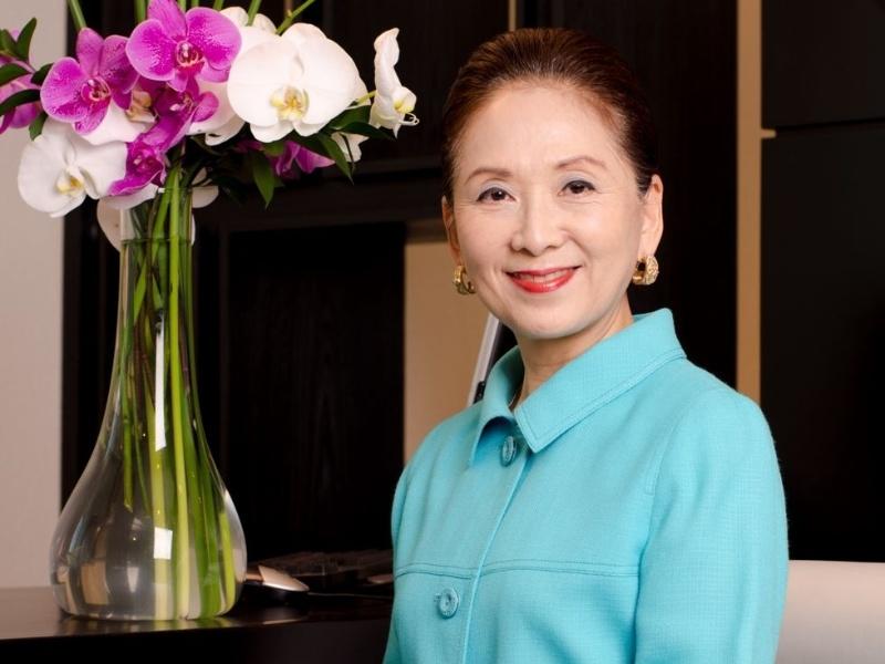 Chieko Aoki, fundadora da rede Blue Tree Hotels