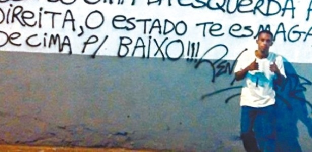O morador de rua foi o único preso durante as manifestações realizadas do ano passado no Rio de Janeiro