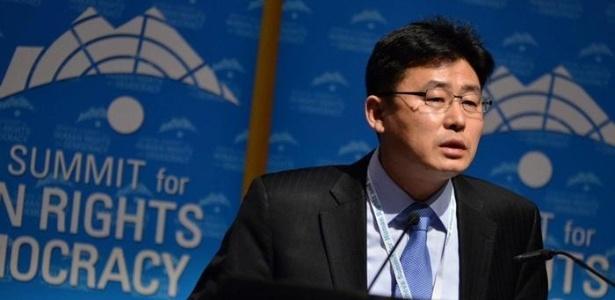 Ahn Myeong Cheol tornou-se ativista dos direitos humanos