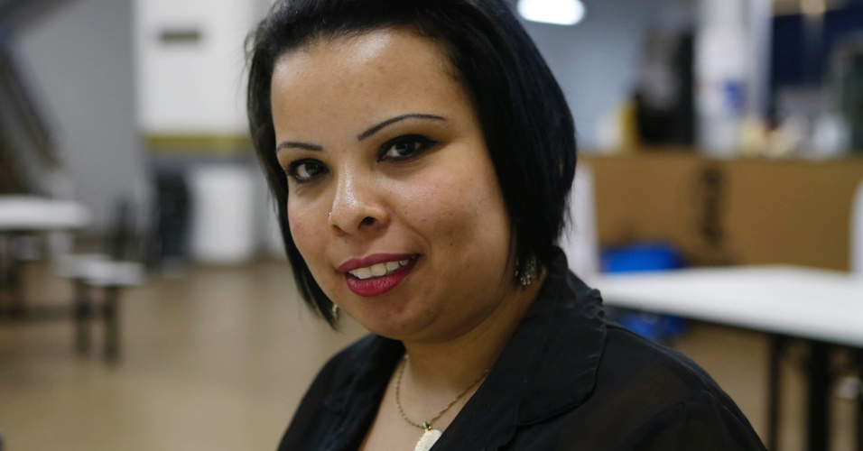 Débora Araújo, estudante da Faculdade Zumbi dos Palmares