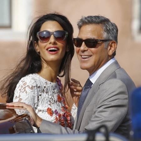George Clooney e Amal Alamuddin vão evitar certos destinos - Stefano Rellandini/Reuters