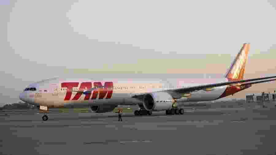 Avião da TAM - Divulgação