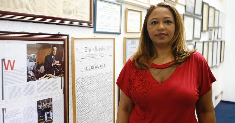Pró-reitora da Faculdade Zumbi dos Palmares, Francisca Rodrigues