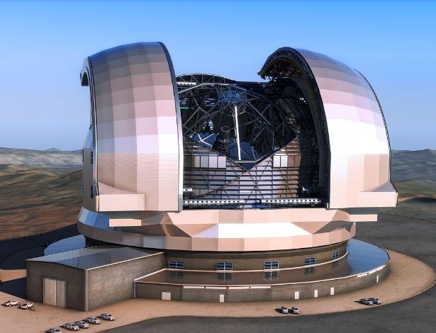 """Em comunicado, a ESO informou que o telescópio será """"o maior do mundo"""""""
