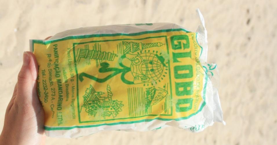 5.dez.2014 - O biscoito Globo é um produto vendido nas praias do Rio de Janeiro desde os anos 1950. Há dois anos, ele se tornou patrimônio imaterial da capital fluminense