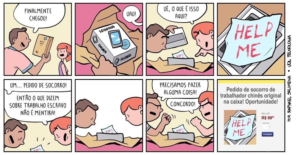 "6.dez.2014 - ""Pedido de socorro"""