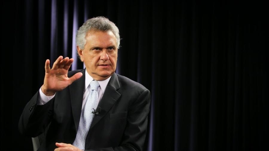 O governador de Goiás, Ronaldo Caiado (DEM), declarou apoio em incluir a compensação de R$ 4 bilhões da Lei Kandir na mesma Proposta de Emenda à Constituição (PEC). - Sergio Lima/Folhapress