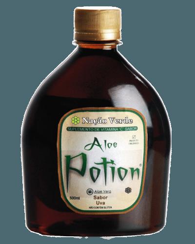 Tônico Aloe Potion, da marca Nação Verde, franquia fundada pelo empresário Ricardo Cruz
