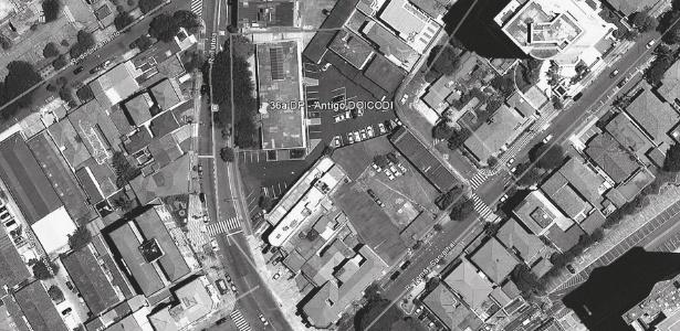 Imagem área do local onde funcionou o DOI-Codi do 2º Exército, em São Paulo