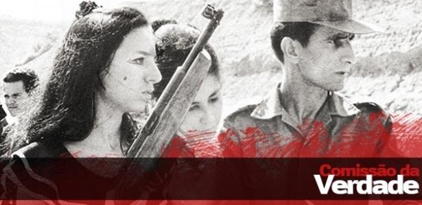 """O guerrilheiro Carlos Lamarca fazia parte da luta armada para derrubar o regime. Em 1971, o militante foi assassinado a tiros na """"Operação Pajussara"""", no interior da Bahia - Arte/UOL"""
