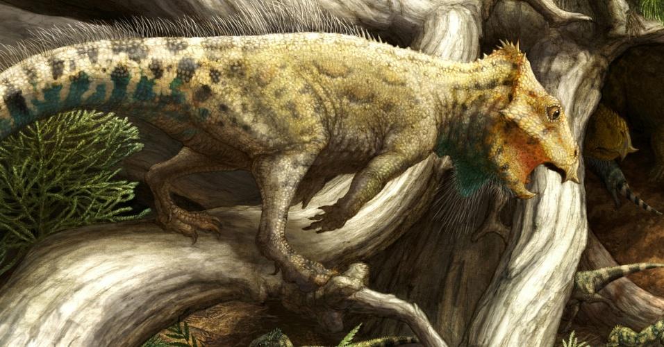 Os dinossauros trocavam de pele?