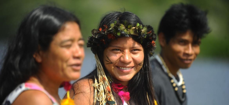 A aldeia Mata Verde Bonita, no município de Maricá (RJ) ,abriga cerca de 20 famílias da etnia Guarani Mbyá - Tânia Rêgo/ Agência Brasil