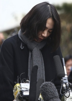 Cho Hyun-ah, ex-vice-presidente da Korean Air que foi condenada hoje - Kim Chul-Soo/EFE