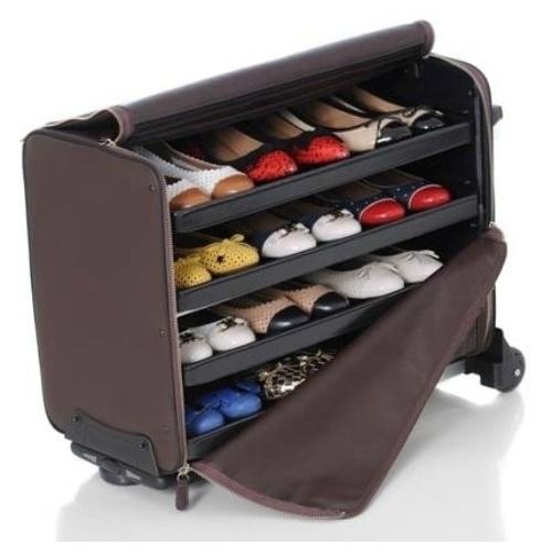 Bag com kit de sapatos das vendedoras da Quinta Valentina