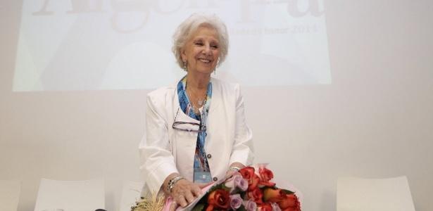 Presidente da organização Avós de Maio, Estela de Carlotto