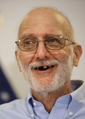 Alan Gross agradeceu ao governo norte-americano pelos esforços em libertá-lo em entrevista coletiva nos EUA - Chip Somodevilla/Getty Images/AFP