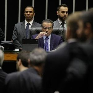 O ministro do Turismo, Henrique Eduardo Alves (PMDB-RN), à época em que presidia a Câmara