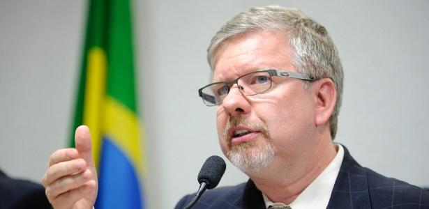 O então relator da CPI (Comissão Parlamentar Mista de Inquérito) da Petrobras, deputado Marco Maia (PT-RS)