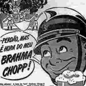 Propaganda antiga da Brahma - Reprodução