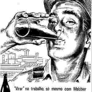 Propaganda de Malzbier de 1967 - Reprodução