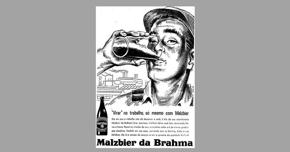 b6434fb56 Fotos: Álcool e cigarro no trabalho em propagandas antigas - 17/12 ...