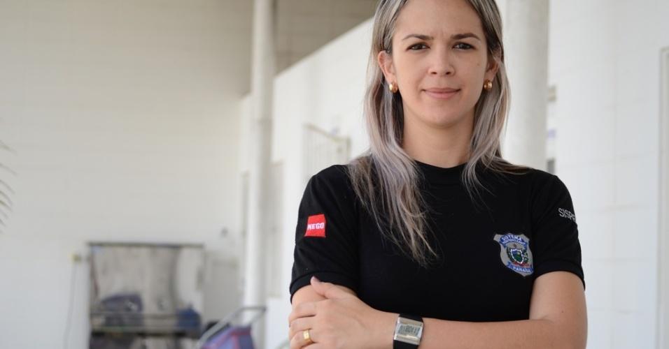 """Diretora adjunta da penitenciária feminina do Serrotão em Campina Grande, Aurilete Camelo destaca mudança das presas após a instalação do campus da UEPB. """"Elas até diminuíram os pedidos de remédios ansiolíticos"""", disse"""