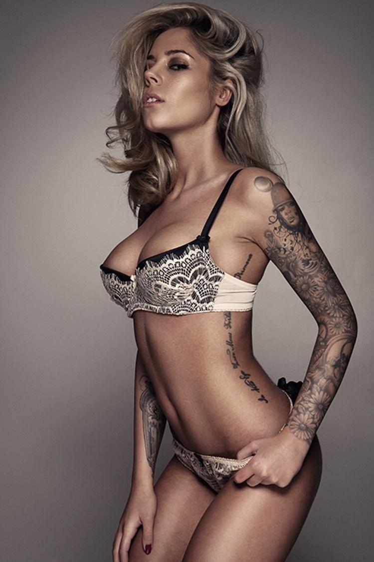 Ellis Coopers foi uma das atrações da  10ª Convenção Anual de Tatuagem de Londres, no Reino Unido